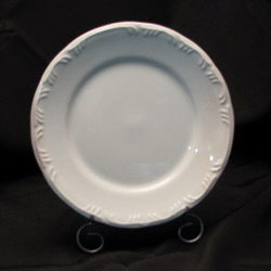 Where to rent White Embossed Dinner Plate 10 in The Greater Philadelphia area, New Britain PA, Doylestown PA, Lansdale PA, New Hope PA