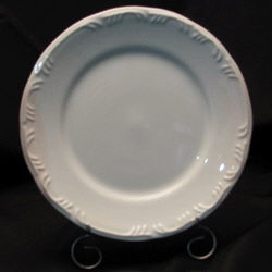 Where to find White Embossed Serving Platter 13 in New Britain