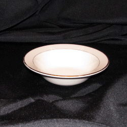 Where to find Ivory w  Gold Rim Soup Bowl in New Britain