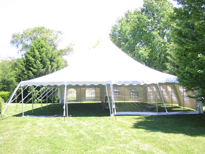 Where to find 40 x40  Century Mate Pole Tent in New Britain