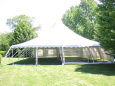 Rental store for 40 x40  Century Mate Pole Tent in New Britain PA