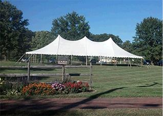 Where to rent 40 x80  Century Mate Pole Tent in The Greater Philadelphia area, New Britain PA, Doylestown PA, Lansdale PA, New Hope PA