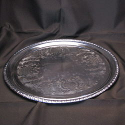 Where to rent Tray,  14  Round Chrome in The Greater Philadelphia area, New Britain PA, Doylestown PA, Lansdale PA, New Hope PA