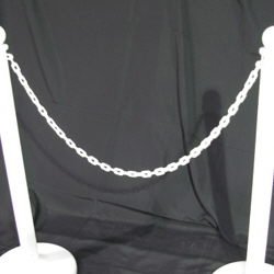 Where to rent White Plastic Chain in The Greater Philadelphia area, New Britain PA, Doylestown PA, Lansdale PA, New Hope PA