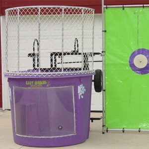 Where to rent Tow Behind Dunk Tank Purple in The Greater Philadelphia area, New Britain PA, Doylestown PA, Lansdale PA, New Hope PA