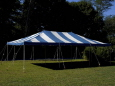 Rental store for 20 x30  Blue   White Canopy in New Britain PA