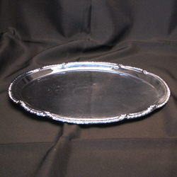 Where to rent Tray, 14  Oval Chrome in The Greater Philadelphia area, New Britain PA, Doylestown PA, Lansdale PA, New Hope PA