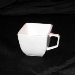 Where to rent White Square Coffee Cup in The Greater Philadelphia area, New Britain PA, Doylestown PA, Lansdale PA, New Hope PA