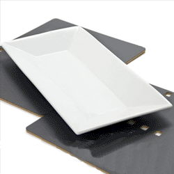 Where to find White Rectangular Platter Lg in New Britain