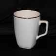 Rental store for White Mug w  Silver Rim in New Britain PA