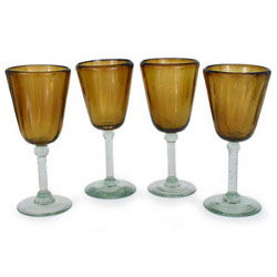 Where to rent Wine Glass Amber Colored in The Greater Philadelphia area, New Britain PA, Doylestown PA, Lansdale PA, New Hope PA