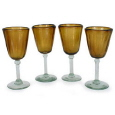 Rental store for Wine Glass Amber Colored in New Britain PA