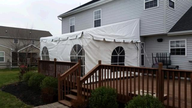 Where to rent 14 x15  Pavilion Fiesta Frame Tent in The Greater Philadelphia area, New Britain PA, Doylestown PA, Lansdale PA, New Hope PA