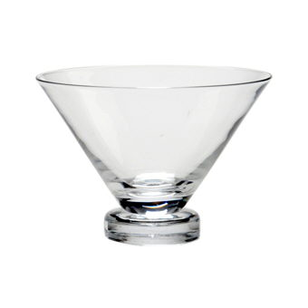 Where to rent Stemless Martini 10 oz in The Greater Philadelphia area, New Britain PA, Doylestown PA, Lansdale PA, New Hope PA