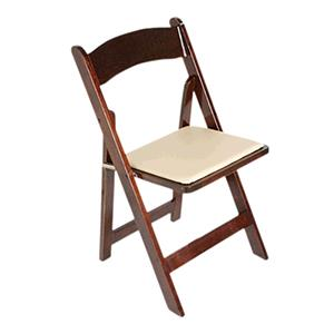 Where to rent Fruitwood Chair Ivory Pad in The Greater Philadelphia area, New Britain PA, Doylestown PA, Lansdale PA, New Hope PA