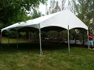 Where to rent F3 20 x20  Gable End Tent in The Greater Philadelphia area, New Britain PA, Doylestown PA, Lansdale PA, New Hope PA