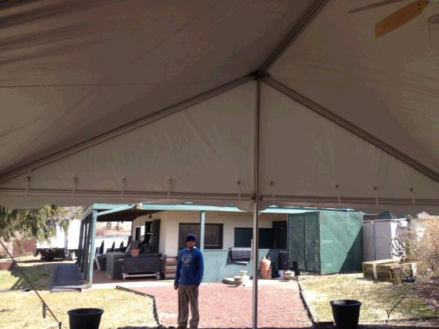 Where to find 30 x25  Future Trac Gable Frame Tent in New Britain