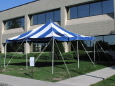 Rental store for 16 x16  Blue   White Canopy in New Britain PA