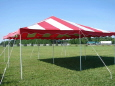Rental store for 20 x20  Red   White Canopy in New Britain PA