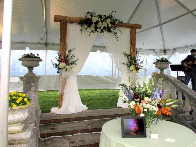 Where to rent Rustic Handcrafted Wedding Arch in The Greater Philadelphia area, New Britain PA, Doylestown PA, Lansdale PA, New Hope PA