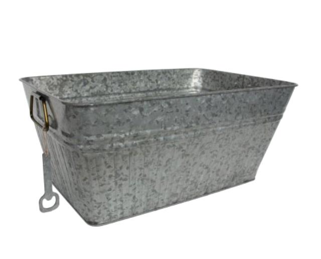 Where to find Rectangle galvanized tub in New Britain
