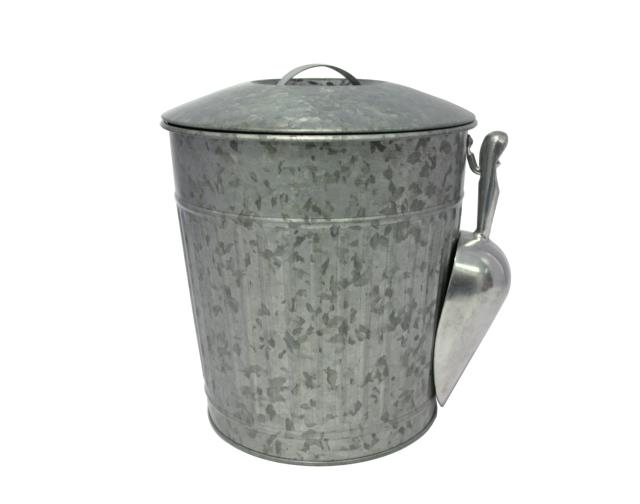 Where to rent Galvanized ice bucket with scoop in The Greater Philadelphia area, New Britain PA, Doylestown PA, Lansdale PA, New Hope PA