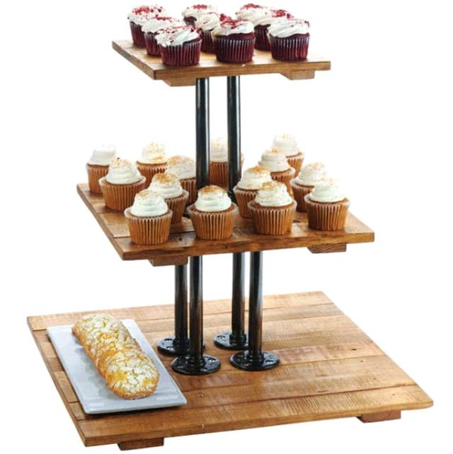 Where to rent Madera 3-Tier Display Riser in The Greater Philadelphia area, New Britain PA, Doylestown PA, Lansdale PA, New Hope PA