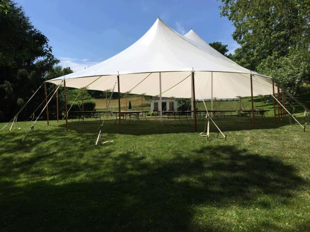 Where to rent 59 x39  Aurora Sheer Top Pole Tent in The Greater Philadelphia area, New Britain PA, Doylestown PA, Lansdale PA, New Hope PA