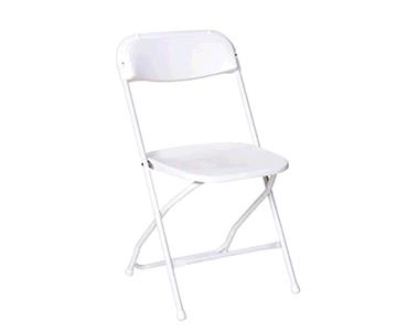 Where to find White Folding Chair in New Britain