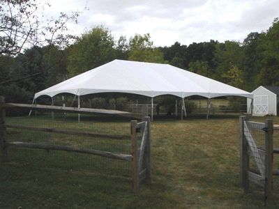 Where to find 40 x60  Future Trac Frame Tent in New Britain