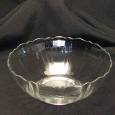 Rental store for Glass Petal Bowl 1 Qt in New Britain PA